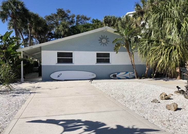 Cute Private Duplex- Just Steps To The Beach #1