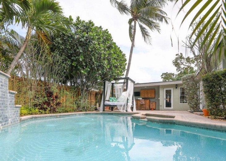 Cabana house *3 min to beach*King bed #1
