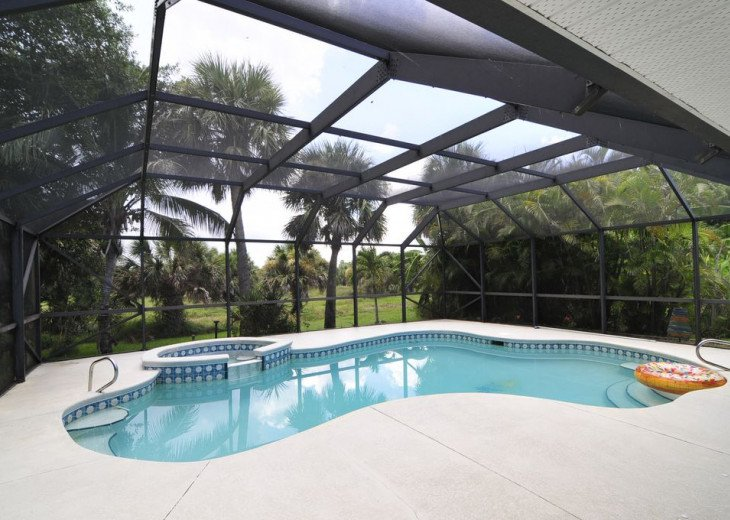 Melbourne Beach bungalow-Four bedroom with heated pool two blocks from beach #1
