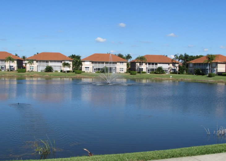 Just steps to beach. perfect location. Gated lakeside condo, #1