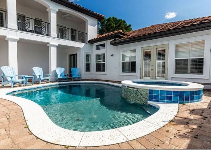 Private pool in your own private courtyard! Perfect for grilling out by the pool