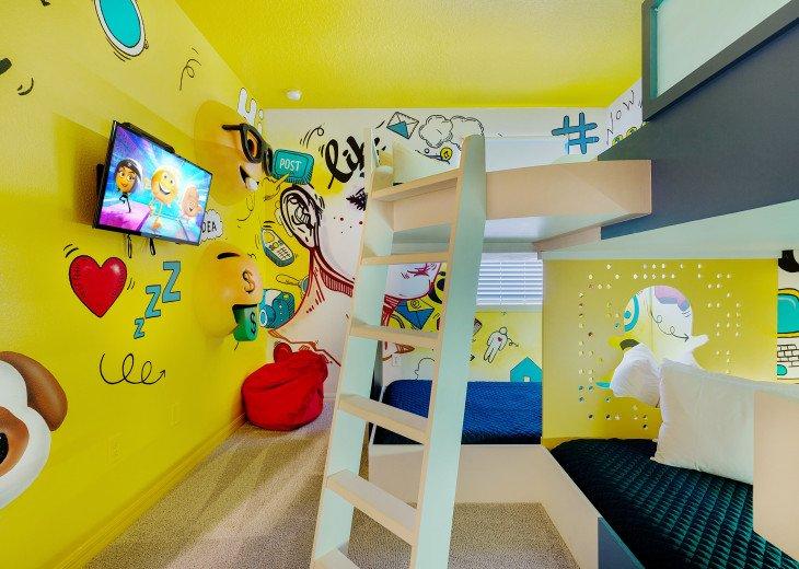Stunning Design, Modern Comfort & Disney Entertainment 8 BR's Orlando Villa #1