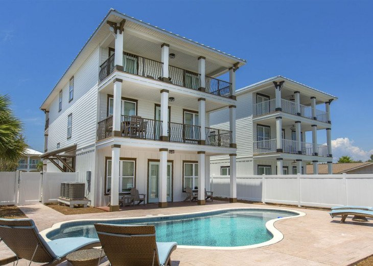 Brand New 7 bed 5.5 Bath with Gulf View! Private Pool and Golf Cart! #1