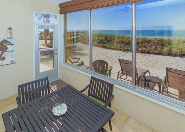 Located Directly on the Beach in Siesta Key-Beautiful First Floor-Walk Out #1