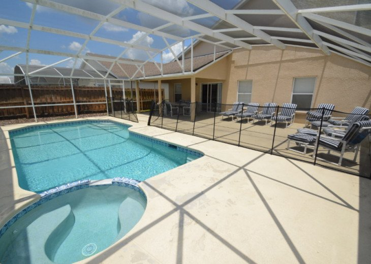 Newly updated large family vacation home near Disney wth private Pool and Spa, #1