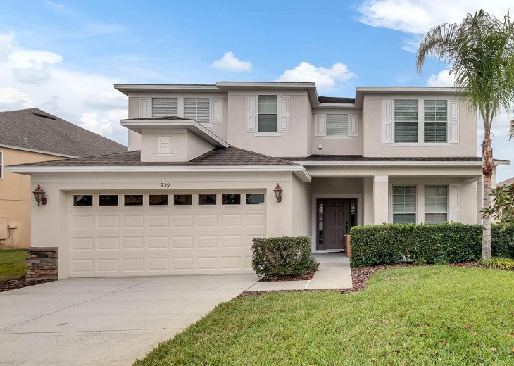 Sunset Villa,5 bd/4 bath, private pool, near Disney #1