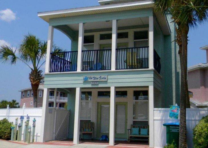 The Blue Turtle Beach House #1