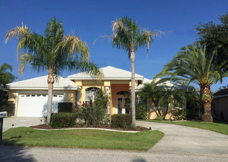 CapeCoralRentalHouses House 25 - Sunset Cove - Western Exposure, Sailboat Access #1
