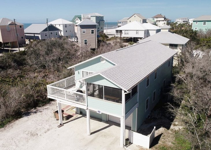 Sea Casa, 2 bedroom home, 125 steps to beach, Gulf view, quiet area #1