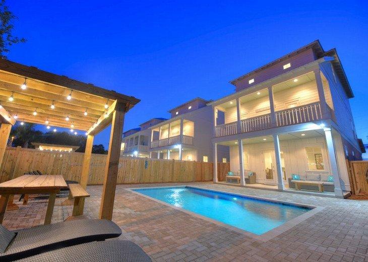 Aquamare. Aquamare - Luxury Coastal Home, Large Private Pool, Game Room #1