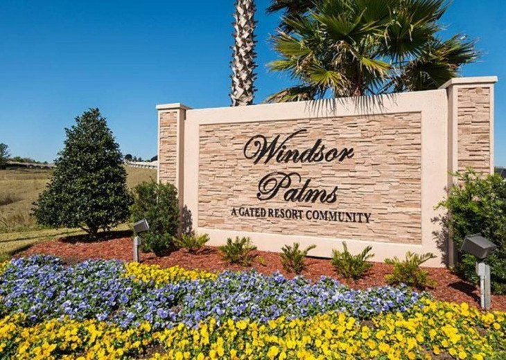 308SPD Windsor Palms Condo 3 bedrooms and 2 bathrooms in Kissimmee, FL #1