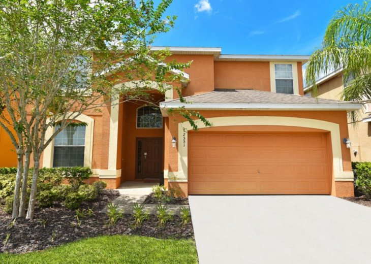 Lovely 6BR 4bth Resort home w/private pool and gameroom - VP2551 #1