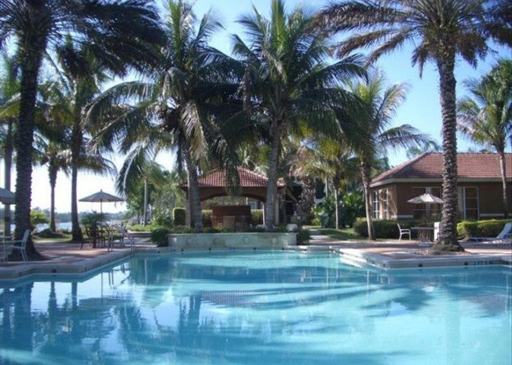 Heated beautiful pool
