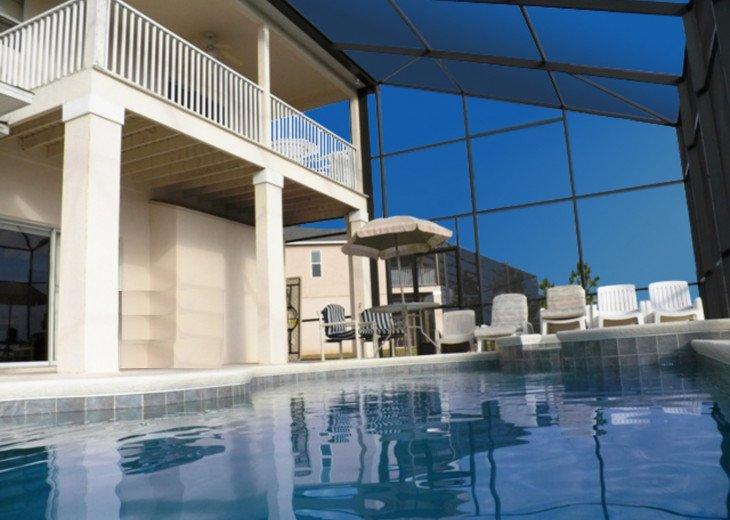 Balcony, Pool, SPA, BBQ, Patio,....