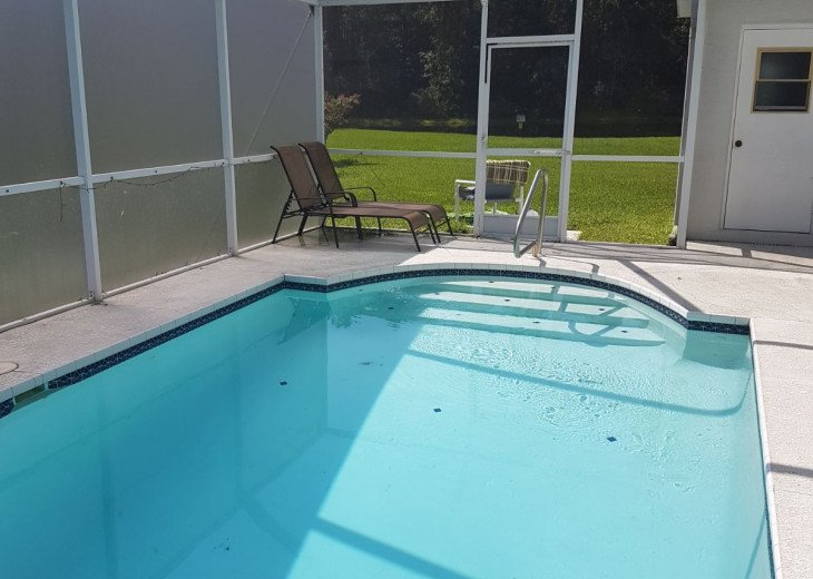 ELECTRIC HEATED POOL - FULLY INCLUSIVE OF RENTAL FEE