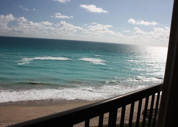 Incredible Unobstructed Ocean views from beachfront condo #1