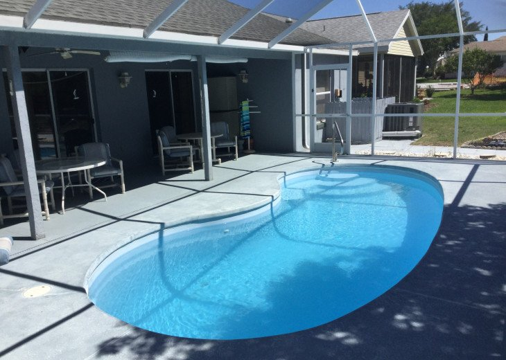 Private Electrically Heated Pool for year round enjoyment!