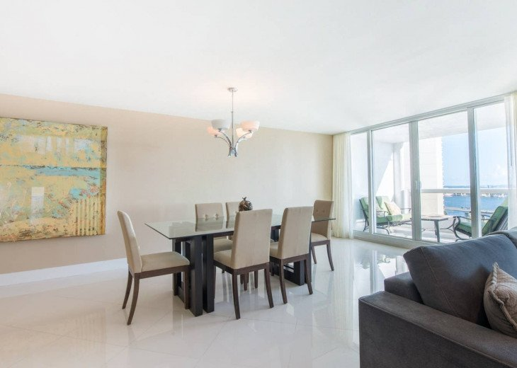 The Grand Downtown Miami   Two Bedroom Panoramic Partial Bay View #1