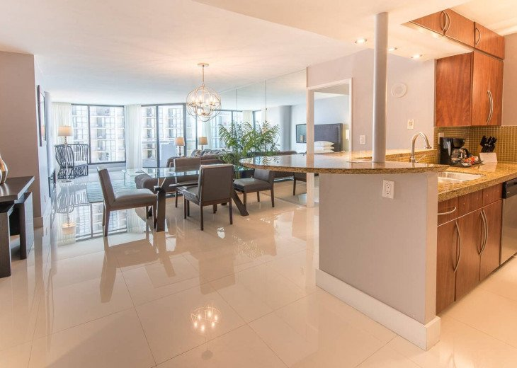 The Grand Downtown Miami | Luxury Two Bedroom Partial View #1