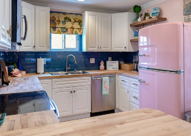 Conch Shell Inspired Kitchen