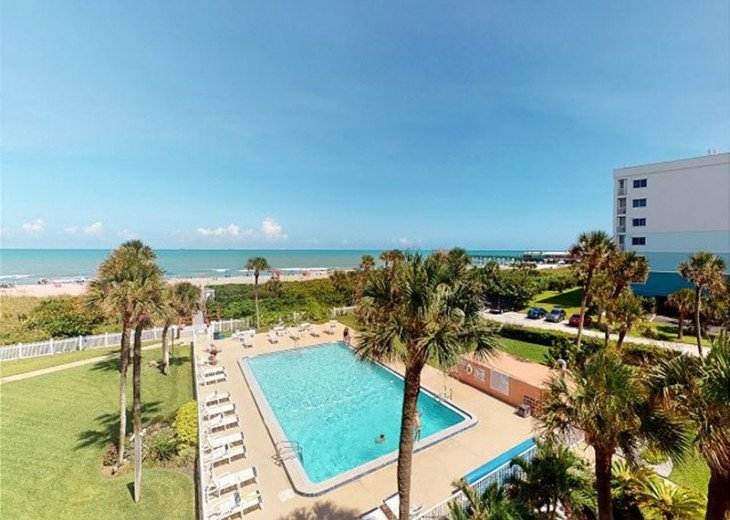 SPECIAL $99.00 PER NIGHT 2B/2B Direct Oceanfront By Cocoa Beach Pier (CBT44) #1