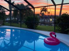 Coral Palms - POOL & CANAL w/ quick Gulf access. Close to Yacht Club & beach #1