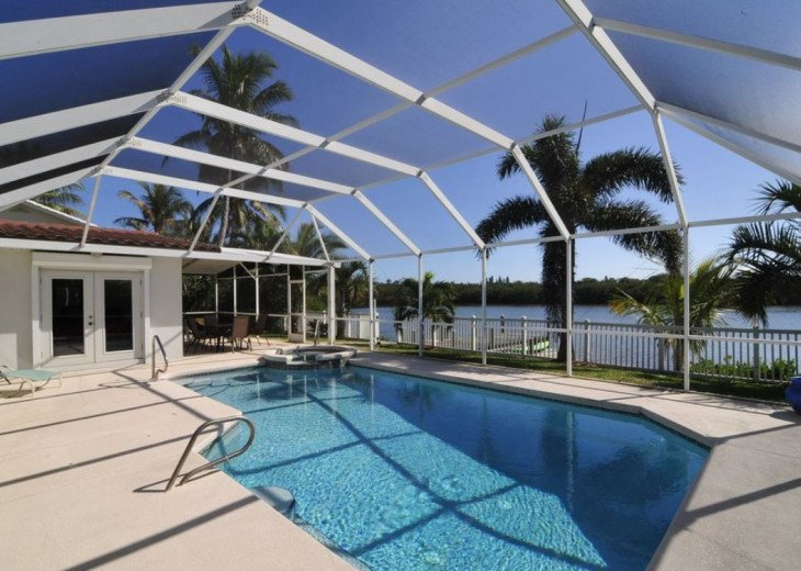 Banana River Beauty - Five Bedroom Waterfront Home with Heated Pool and Spa #1