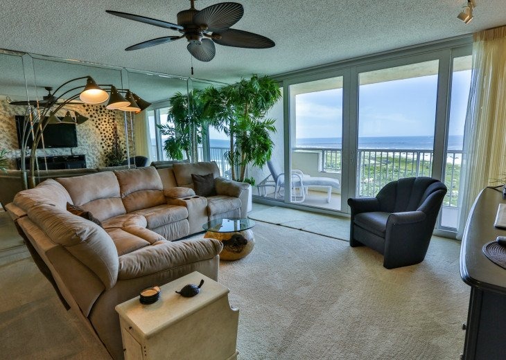 Luxury two bedroom condo with panoramic views! Easy access to beach and pools #1