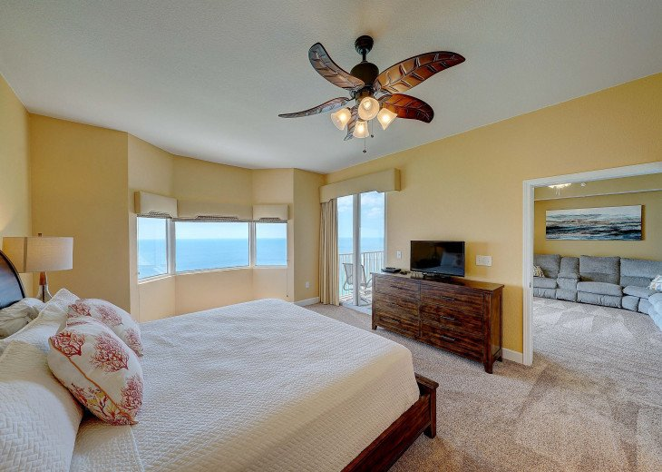 Master Suite with private access to balcony
