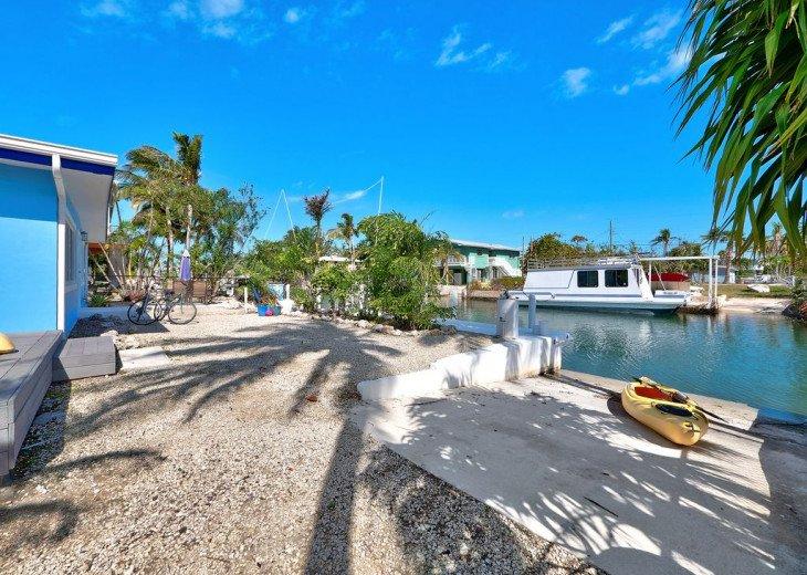 Dock and Kayak Ramp