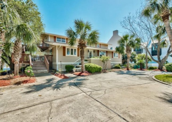 6BR 5BA Home on Canal-Boating Fun!, Destin Area #1
