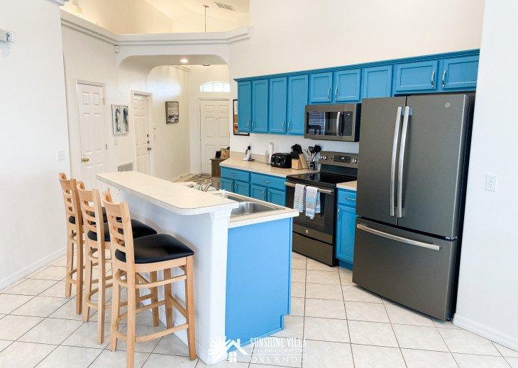 "Sunshine Villa at Glenbrook. Solar Powered Villa Near Disney has "" Wow"" #1"