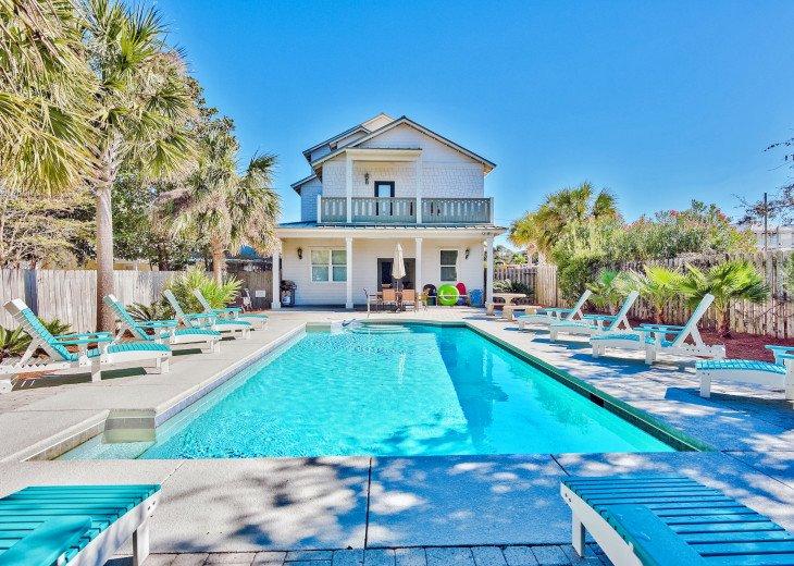 Doodlebug Cottage. Doodlebug Cottage | NEW UPDATES | Pool | Beach View | #1