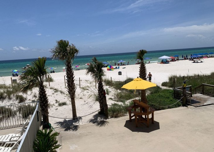 THIS is BEACH FRONT One Floor UP