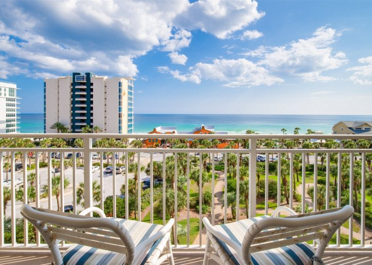 Beach Blessing~2 Bedroom/2 Bath Sterling Shores Unit on 6th floor with Gulf View #1
