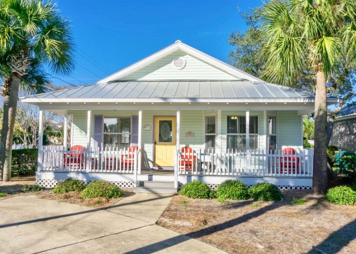 Beachy Keen~ Cozy Beach Retreat With Private Pool And Carriage House!! #1