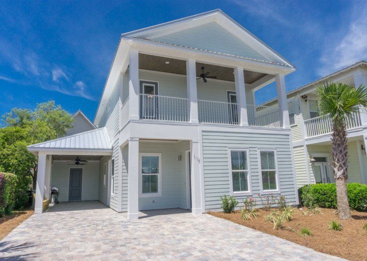 The Destination Vacation~Private Beach Access is just 2.5 blocks away! #1