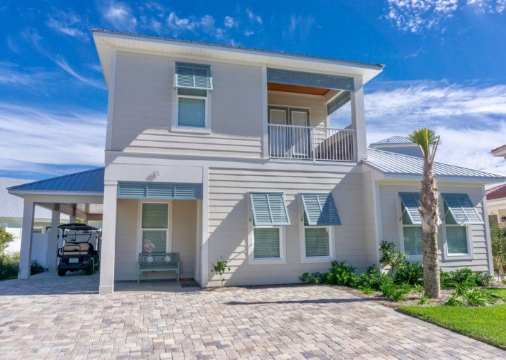 Shore Beats Work~ Custom Beach Home w/ Private Pool and Golf Cart (Optional) #1