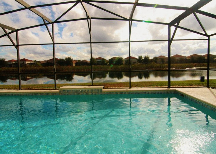 Pond View Near Clubhouse with South-facing, Super-sized, Private Pool #1