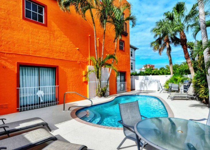 Garden Apartment of Siesta Key Townhouse - Heated Pool -Siesta key Unit 1BR 5239 #1