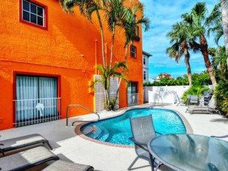 Garden Apartment of Siesta Key Townhouse - Heated Pool -Siesta key Unit 1BR 5239