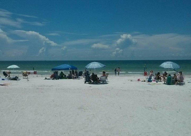 Beaches are the safest place to hang out. Sun and King size bed. #1