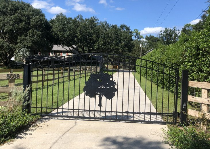 The property is gated with plenty of parking, bring the RV and toys!