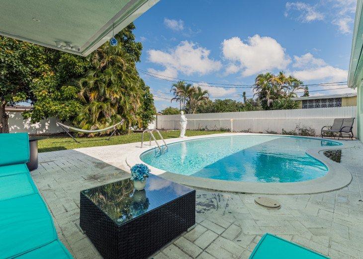 Beautiful Patio with Heated Pool!