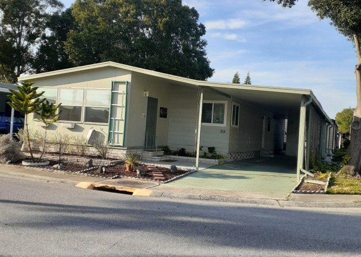 Clean spacious 2BR mobile home in great senior community in Largo #1